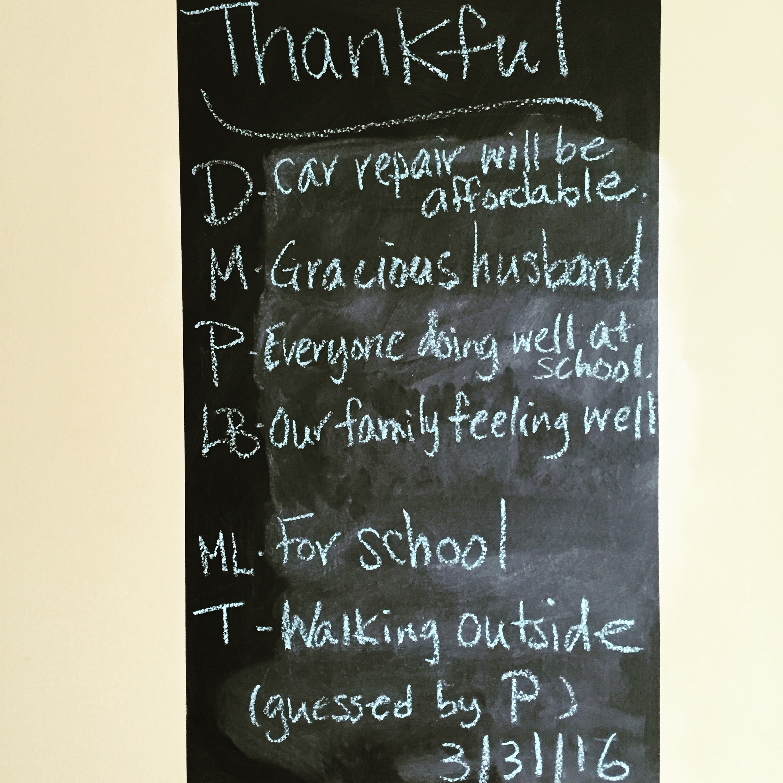 Thankful Thursday 3.31.16