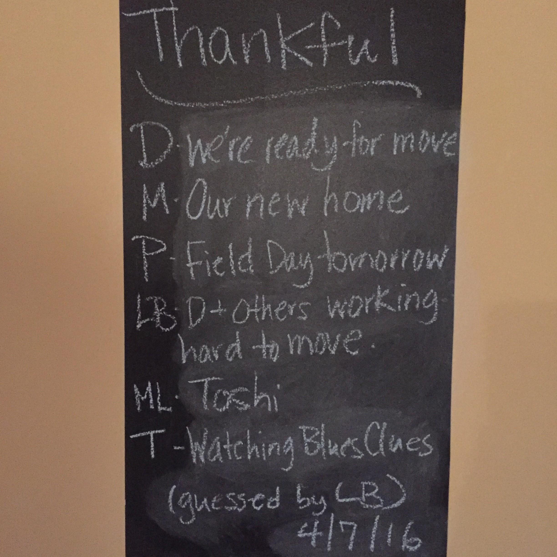 Thankful Thursday 4.7.16