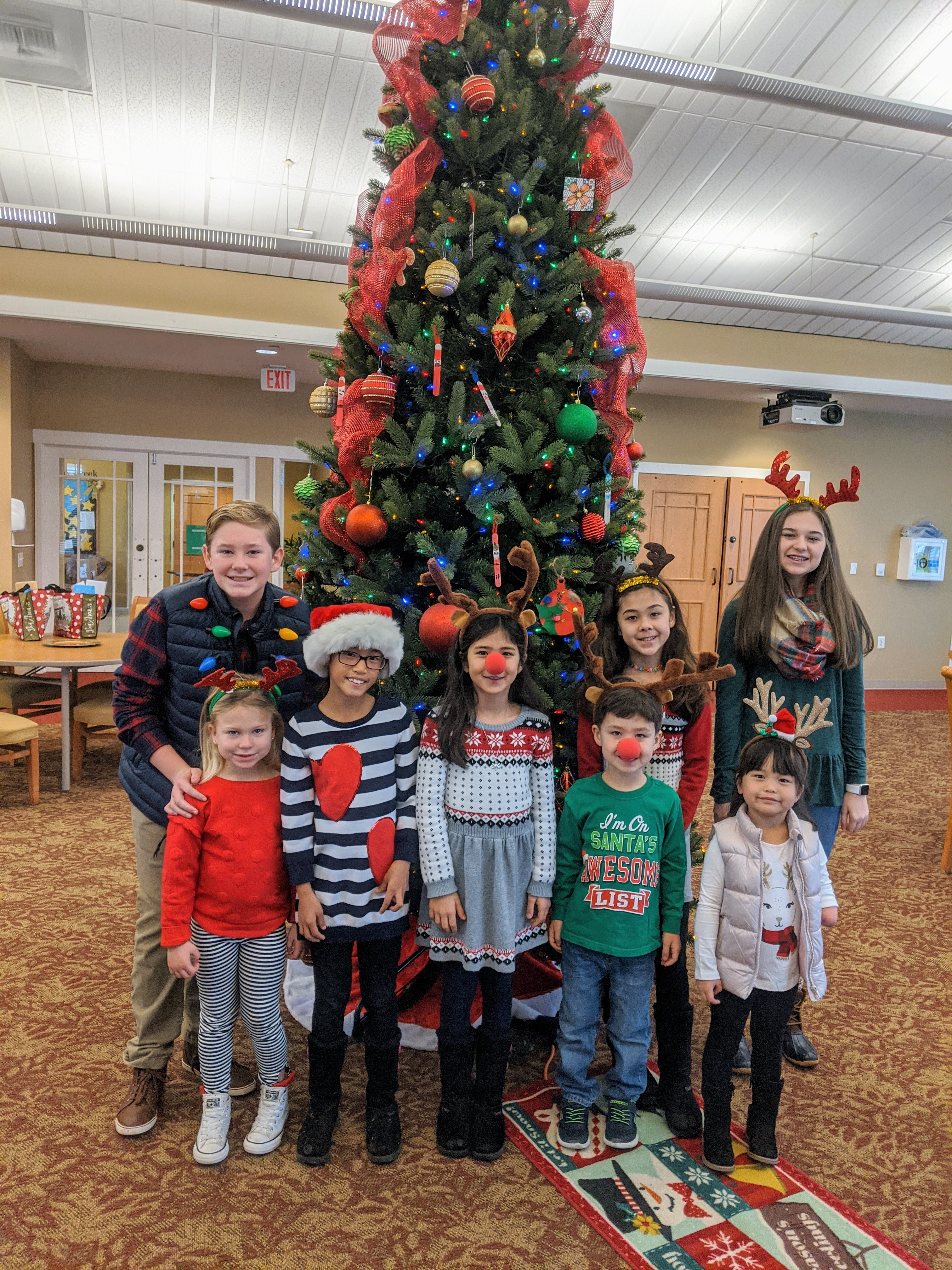 Christmas Caroling 2019